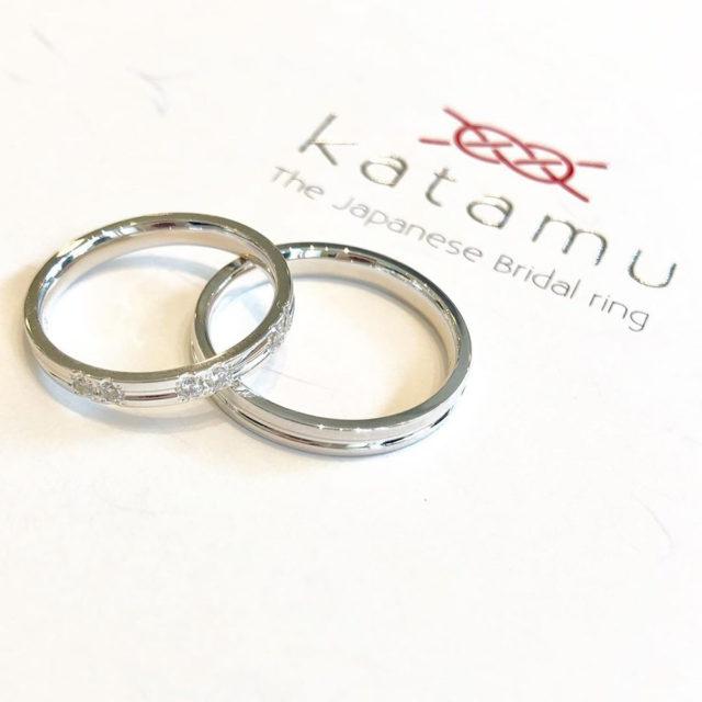 katamu – 淙々(そうそう)マリッジリング