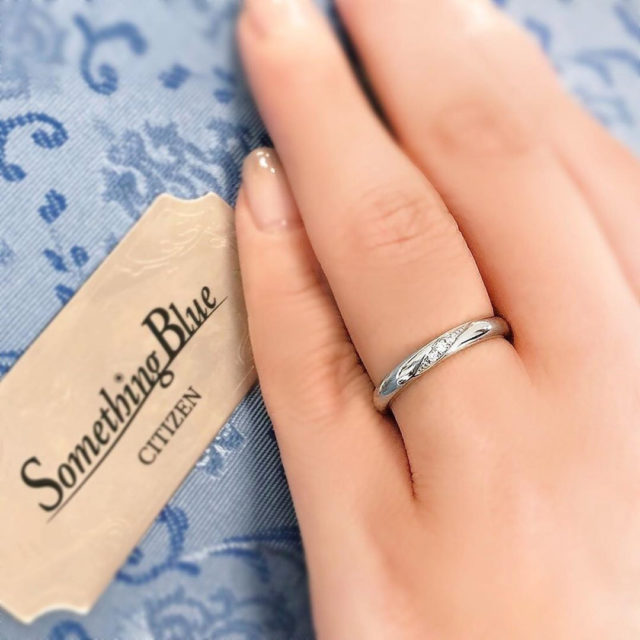 Something Blue – Will / ウィル マリッジリング SB857,SB858 ...