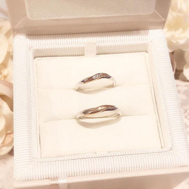 ケース入り結婚指輪画像 AMOUR AMULET - CHOU CHOU [シュシュ]