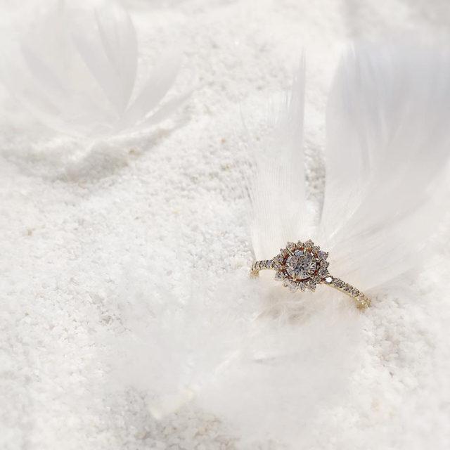 インスタ画像 - JUPITER BLANTELIE(ジュピターブラントリエ) jurer [ジューリ] 誓う 婚約指輪