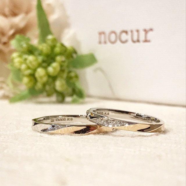 インスタ画像-ノクル 結婚指輪 CN-630/CN-631
