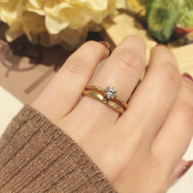 着画 - YUKA HOJO - Capri / カプリ-婚約指輪 Mangotree / マンゴツリー-結婚指輪