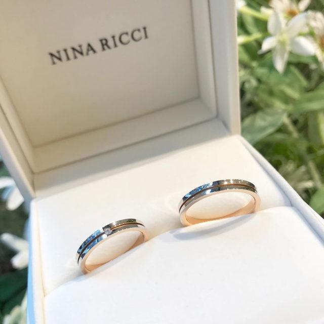 結婚指輪ケース入り ニナリッチ 6RM907/L924