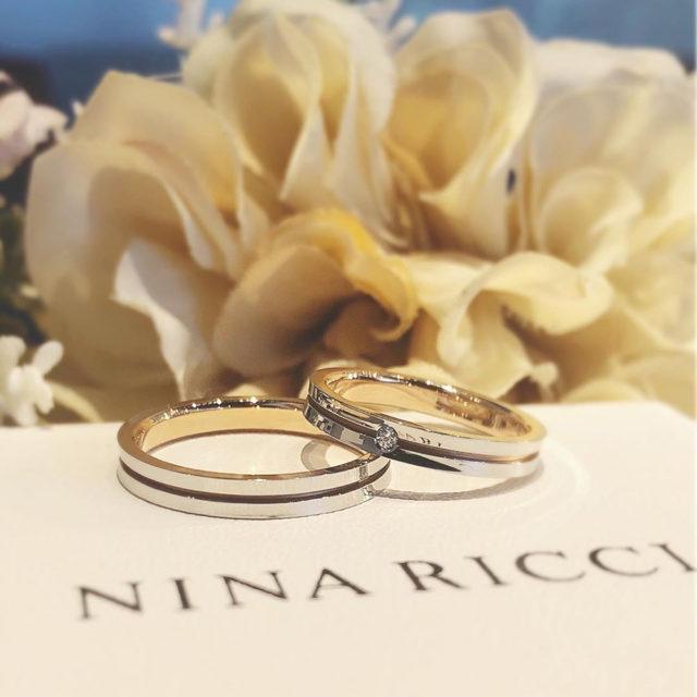 結婚指輪ペア ニナリッチ 6RM907/L924