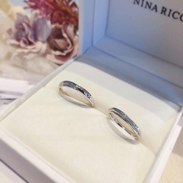 結婚指輪ケース入り ニナリッチ 6R1Q01/Q02