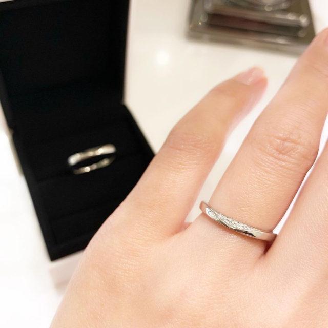 着画 フォーエバーマーク QCPFM F1/QCPFM F2 結婚指輪