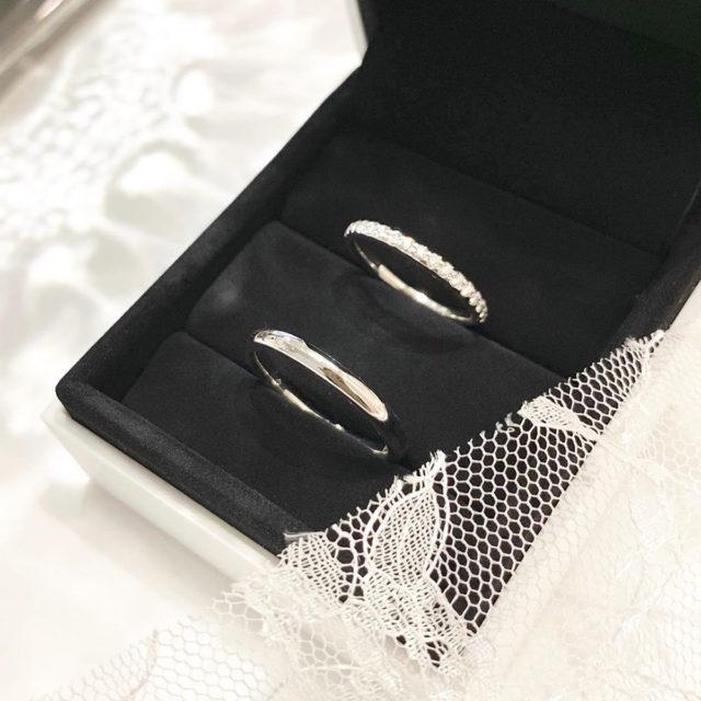 ケース入り結婚指輪画像 フォーエバーマーク エタニティリング/AMR001PT 結婚指輪 婚約指輪