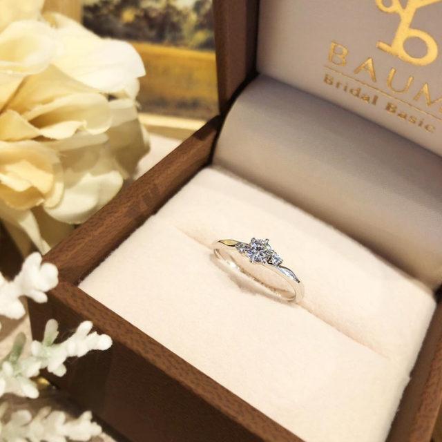 ケース入り婚約指輪画像 - BAUM MAGNOLIA [マグノリア]