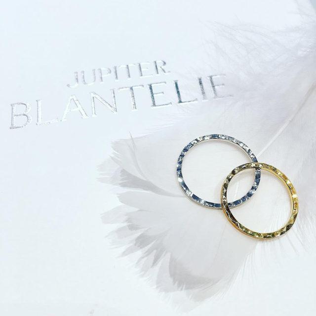インスタ画像 - JUPITER BLANTELIE(ジュピターブラントリエ) pave [パヴェ] 石畳 結婚指輪