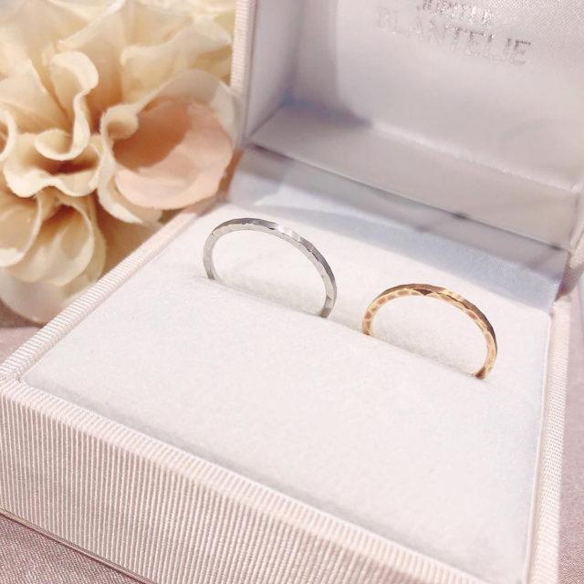 ケース入り結婚指輪画像 - JUPITER BLANTELIE(ジュピターブラントリエ) pave [パヴェ] 石畳