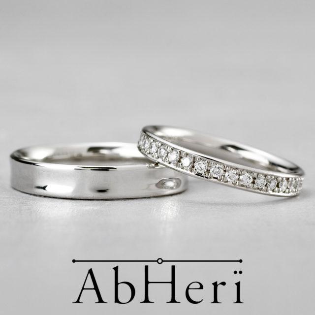 AbHeri – アベリ マリッジリング【上質ななめし革の風合いからインスパイア】