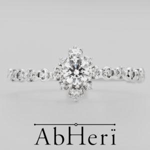 AbHeri – アベリ エンゲージリング 【雪の結晶】