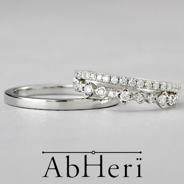AbHeri – アベリ マリッジリング/ハーフエタニティリング