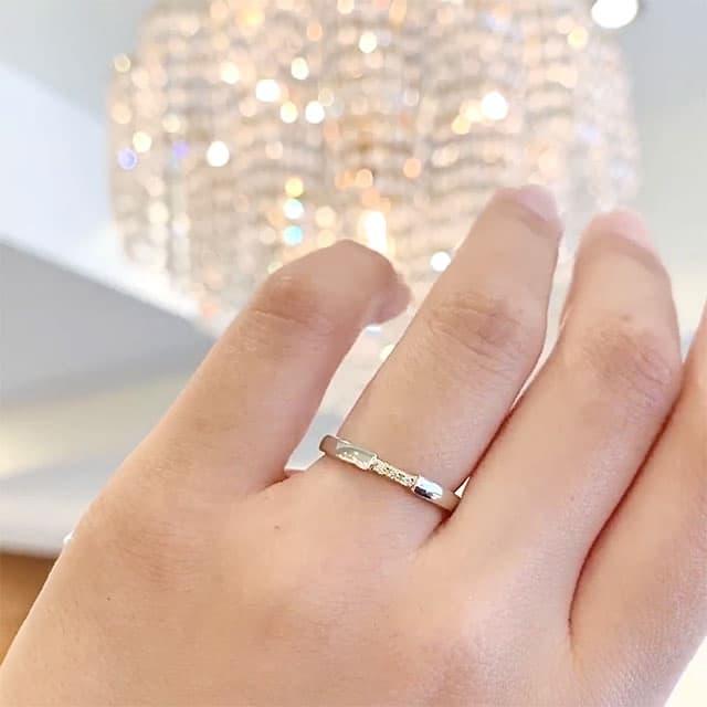 【新作】ディズニー「美女と野獣」 トゥルー・ビューティー 結婚指輪