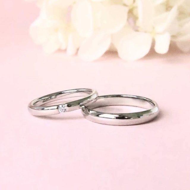 インスタ画像 - Petit Marie(プチマリエ) PM-11/PM-12 結婚指輪