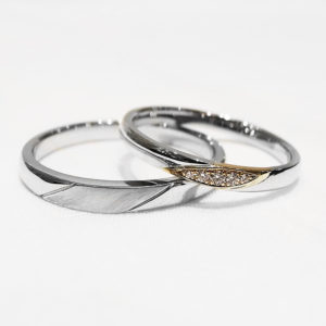 JKPlanet Limited Edition JKPL-4L 4Mの結婚指輪(マリッジリング)