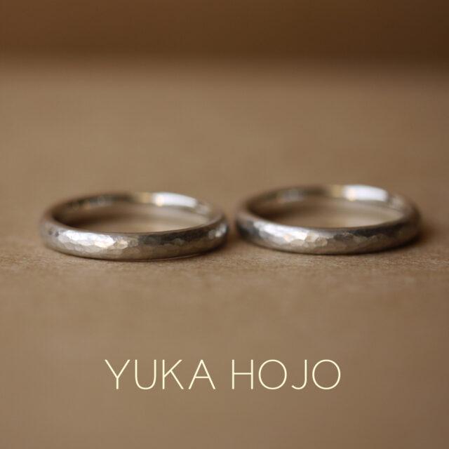 結婚指輪 - YUKA HOJO - Passage of time/ パッセージオブタイム プラチナーダイヤなし
