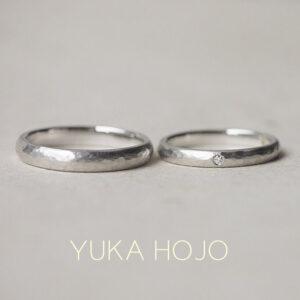 YUKA HOJO – Passage of time Pt/ パッセージ オブ タイム プラチナマリッジリング