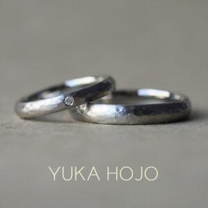 結婚指輪② - YUKA HOJO - Passage of time/パッセージオブタイム プラチナ