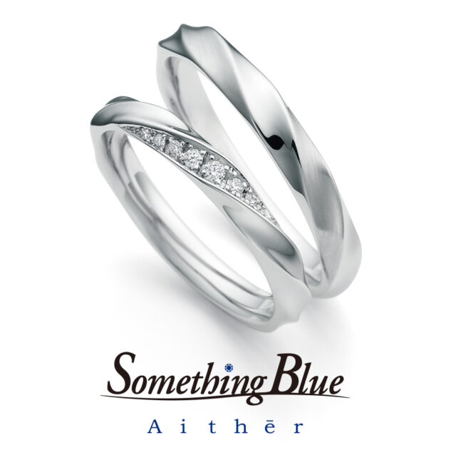 Something Blue Aither – Feather/ フェザー マリッジリング SH716,SH717