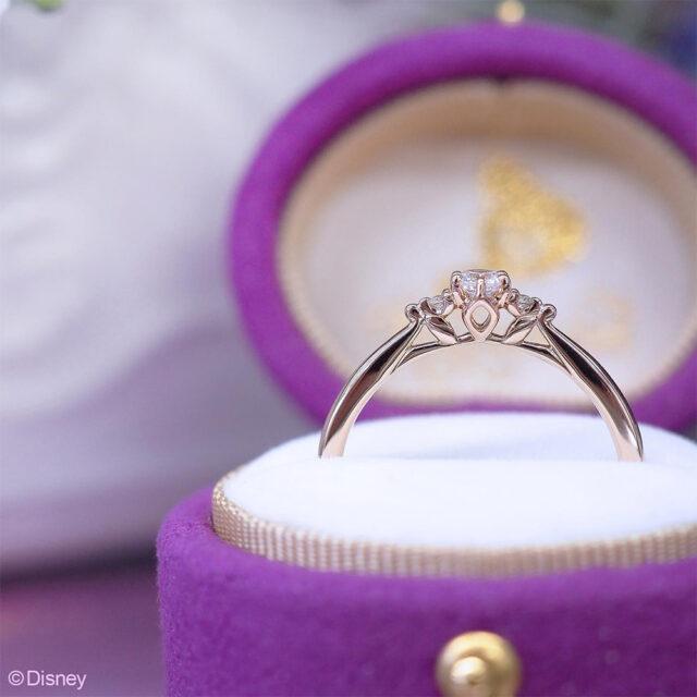 ケース入り画像 Disney Tangled ディズニー「ラプンツェル」 【One Wish〜ひとつの願い〜】 婚約指輪