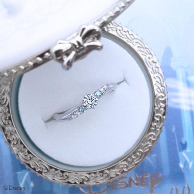 【新作】ディズニーシンデレラ クリスタル・オブ・マジック 婚約指輪(2021年期間数量限定モデル)