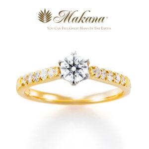 Makana – SUNSET 〜美しく彩るサンセット 〜:ハワイアンジュエリー エンゲージリング
