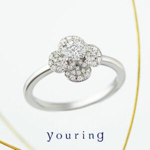 youring – Magnolia Ring / マグノリア エンゲージメントリング
