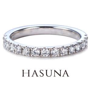 HASUNA ハーフエタニティリング ER12