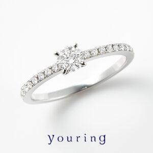 youring – Clarity Line Ring / クラリティー ライン エンゲージメントリング