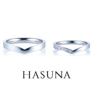 HASUNA マリッジリング MR28/MR30
