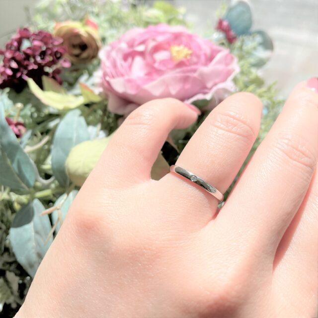 着画② - ノクルCN-083/CN-084 結婚指輪