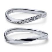 JKPlanetオススメ「ウェーブ(S字・V字)」の結婚指輪・婚約指輪をご紹介!【ブライダルリング専門セレクトショップJKプラネット】