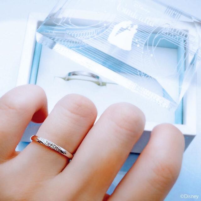 ディズニーシンデレラ-パンプキン・キャリッジ-インスタ画像-結婚指輪-着画